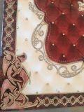 Tapis musulman décoratif d'or de porcelaine intéressante de modèle avec la lumière de lueur
