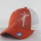 柔らかい網が付いている構成された刺繍のトラック運転手の帽子