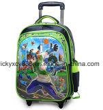 sacchetto di banco dell'allievo dei bambini del bambino del carrello delle rotelle 3D5d6d tre (CY5894)