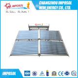 Solarheißwasserbereiter mit behilflichem Becken