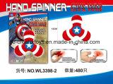Girador da inquietação da mão do brinquedo do dedo no homem de /Spider do homem do ferro/capitão Amercia