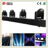 luz móvil de la viga de las pistas de 4PCS LED