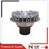 Projetar a tampa do metal que faz sob medida o filtro comercial do dreno do telhado de Siphonic do excesso