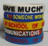 Pollice di abitudine 1/2 - Wristband impresso del silicone di alta qualità