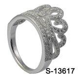 Nuovi anello d'argento dei monili di disegno 925 della parte superiore di arrivo