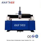 Вырезывание листа с оборудованием вырезывания лазера волокна 1000W от Hans GS