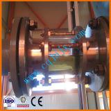 Negro mini motor de los residuos de reciclaje de aceite lubricante del motor de base amarilla las refinerías de petróleo