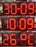 Extérieur Haute luminosité Horloge / Heure / Date / Température LED Signature d'affichage pour publicité Panneau LED 5 '' 6 '' 8 '' 10 '' 12 ''