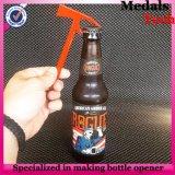 abridor de frasco magnético da cerveja da lata do bronze da antiguidade do metal do costume de 8cm