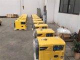 Générateur diesel silencieux refroidi à l'air 5kw portable