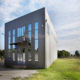 Constructions commerciales modernes portatives de structure métallique avec le grand espace