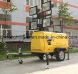 Torretta chiara mobile diesel di singola versatilità idraulica di Axel