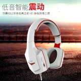 Deep Bass Game Fone de ouvido Estéreo Surrounded Over-Ear Gaming Headset Fone de ouvido com luz para computador PC Gamer