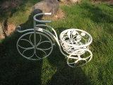 金属の自転車プランター鍋つかみ
