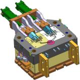 Инструмент заливки формы Alumunum для блока поддержки Част-Автомобильного