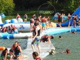 Migliore adulto che fa galleggiare la sosta gonfiabile dell'acqua dell'acqua dei giochi della sosta gonfiabile gonfiabile del Aqua per il mare