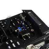 Ausgezeichnete Leistungs-aus optischen Fasernschmelzverfahrens-Filmklebepresse der hohen Präzisions-X-800