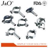 Edelstahl-gesundheitlicher Hexagon-Rohrfitting-Rohr-Stützrohr-Halter ohne Unterseite
