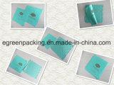 Оба печать стороны на зеленой ткани чистки объектива Microfiber