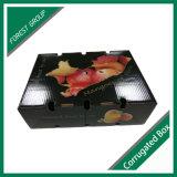 Impresión de encargo corrugado caja de la fruta fresca