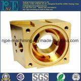 カスタマイズされた精密黄銅CNC機械化サービスに渡されるISO 9001