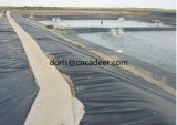 Черные вкладыши HDPE Geomembrane 30mil-60 Mil к пруду озера или линии крышке запруды