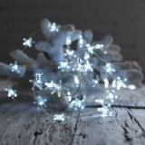 4,5 V Starfish Fée de Noël LED Rope Light cordes Blanc