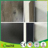Tuiles de plancher PVC en relief embossées en bois