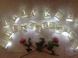 Lampe de papier personnalisée Feuilles de fête 20 LED Lights String