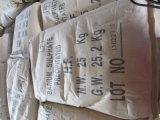 El sulfato de bario precipitó utilizados en la industria de la pintura y de goma