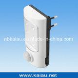 Vertikales Nachtlicht des Italien-Stecker-LED mit Bewegungs-Fühler