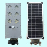 Luz de rua solar integrated nova do diodo emissor de luz 9W com sensor de movimento