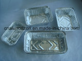 Лоток из алюминиевой фольги домашних хозяйств для замороженных продуктов /закуски приготовить барбекю/форма для выпечки