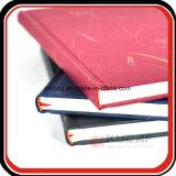Sketchbook de encargo del libro de la escritura del Hardcover de la talla