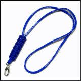학교를 위한 주문품 로고 폴리에스테 목 방아끈 끈