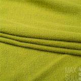 Tessuto delle lane della lavata della macchina di 100% per l'autunno nel verde
