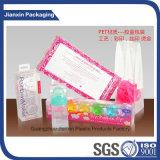Caixa cosmética transparente do empacotamento plástico