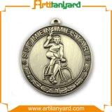 Médaille antique personnalisée en métal de placage