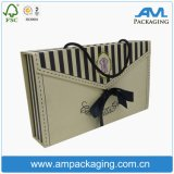 Lingerie Embalagem Caixa de papelão alça caixa dobrável para vestuário
