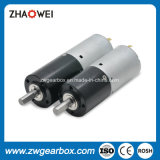 Fabricantes de la caja de engranajes de la alta calidad 24V del Od 22m m pequeños
