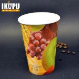 Copa de papel de bebida fría con PE doble