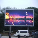 La publicité de l'écran extérieur polychrome P4 d'Afficheur LED