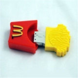 참신 맥도날드 만화 엄지 USB 감자 튀김 플래시 메모리