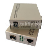 1000base-Fx zum Simplex-Faser-Media-Konverter des Ethernet-1000base-Tx
