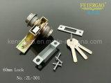 Doppia serratura aperta di Zl-301 60mm/serratura di portello d'acciaio