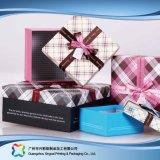 Rectángulo cosmético de empaquetado de papel rígido de lujo de la joyería del alimento del regalo (XC-hbg-013)