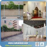 中国の結婚式の背景幕の管は結婚式の装飾の管のためにおおい、卸しでおおい、