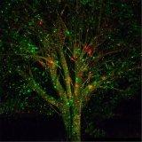 Света ливня лазера рождества лазерного луча напольного украшения сада водоустойчивые