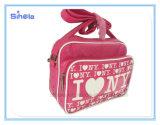 Amo il sacchetto di disegno del cuoio di Ny