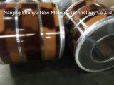 Diseño de ladrillo y madera PPGI/PPGL bobinas de acero